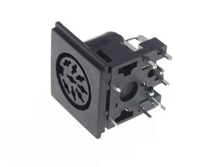 8 Pin DIN Connector (262 degree)